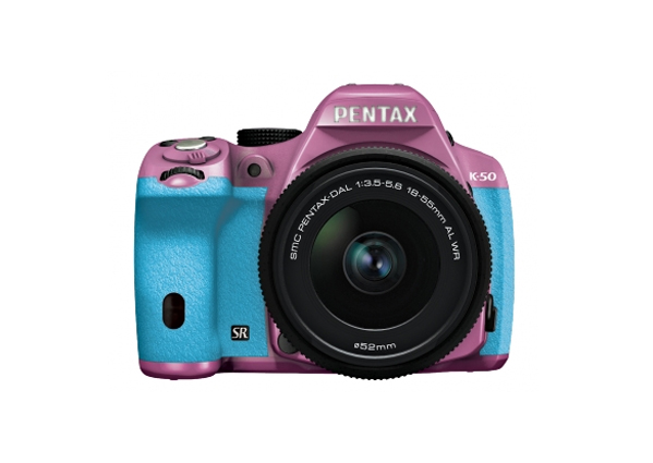 Pentax K50 in eye-candy color